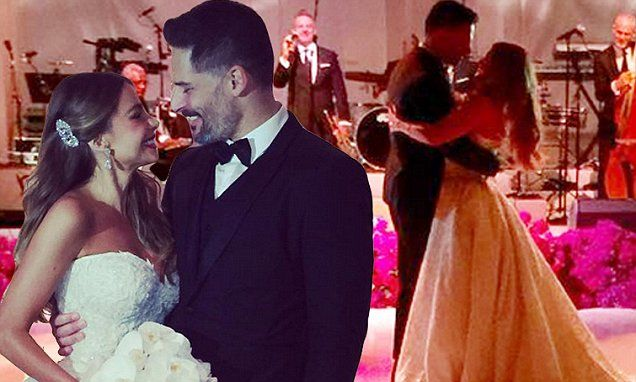 Sofia Vergara and Joe Manganiello tied the knot on Sunday during a star-studded ceremony in Florida.
