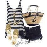 Stylish-Eva-Fashion-Guide-Beach-que combina con pantalones cortos-Perfect-Out-of-Water-Style_04