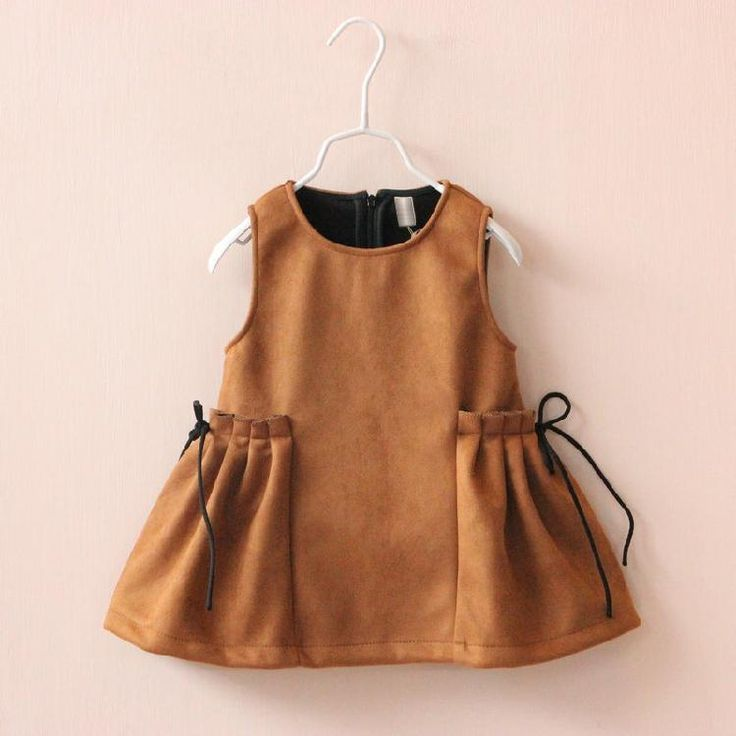 Dresses For Tweens Fashion Kids Girls Faux Suede #Leather Dresses Baby Girl Fall…