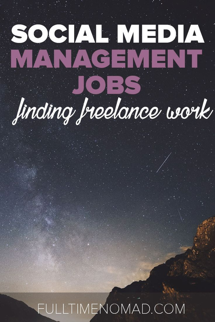 Social Media Management Jobs: 15+ Resources For Freelance SMM Work