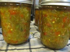 Jalapeno Relish. I would make it with red cherry peppers,