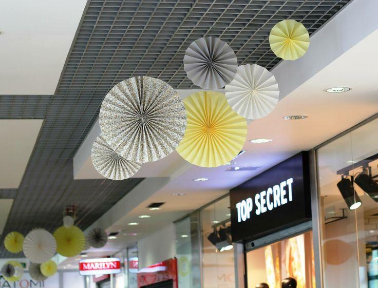 rosettes in renova shopping centre in Warsaw