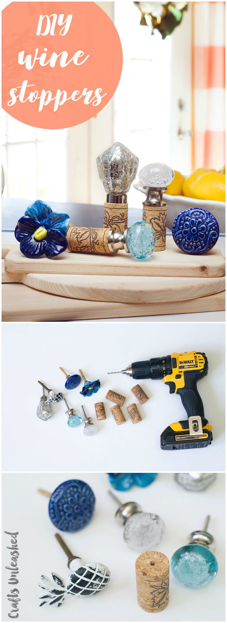 DIY Wine Cork Stoppers