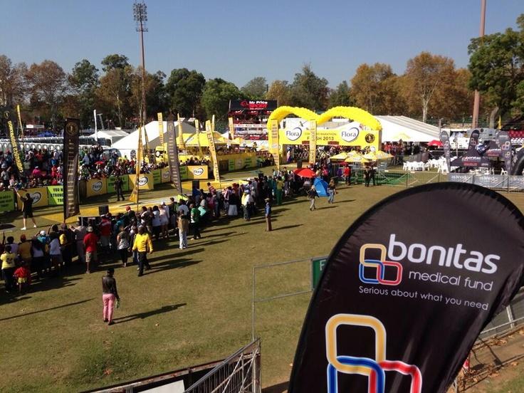 Race day at Comrades Marathon 2013