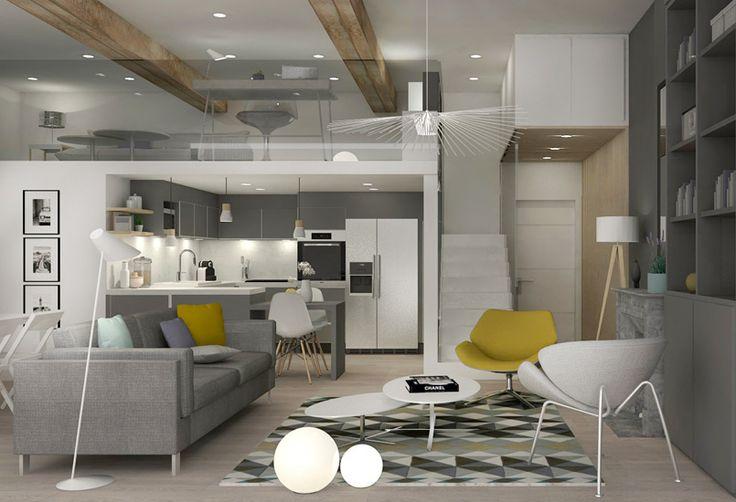 Decoration-Amenagement-Renovation-Appartement-Lyon-Croix Rousse