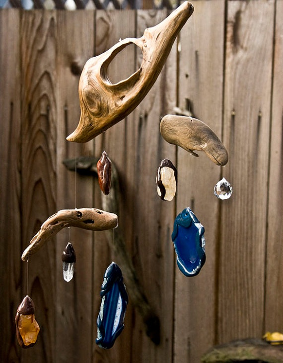 Driftwood Mobile Sun Catcher