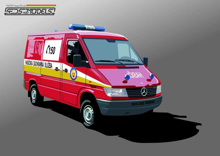 Mercedes Sprinter Fire van