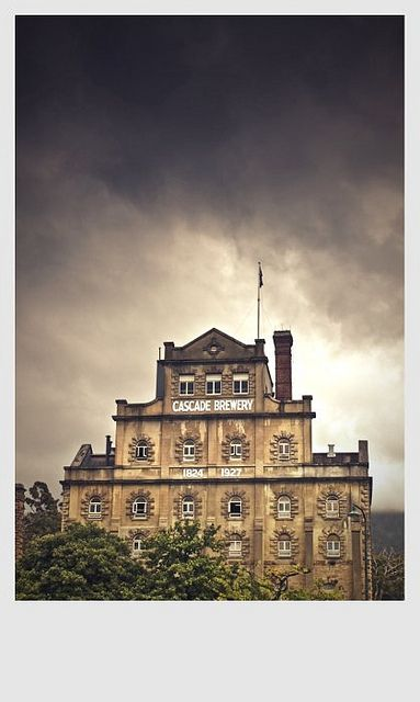 Cascade Brewery, Hobart, Tasmania Australia by Eloise Claire, via Flickr
