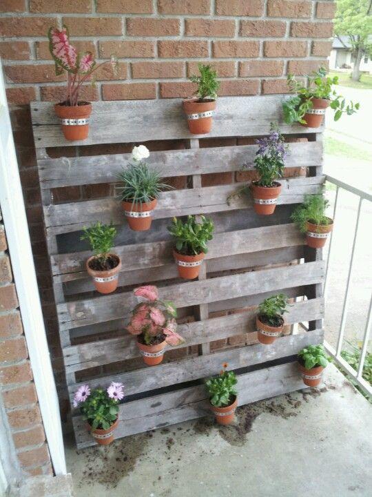 Front porch diy decor... Ready for spring!!!