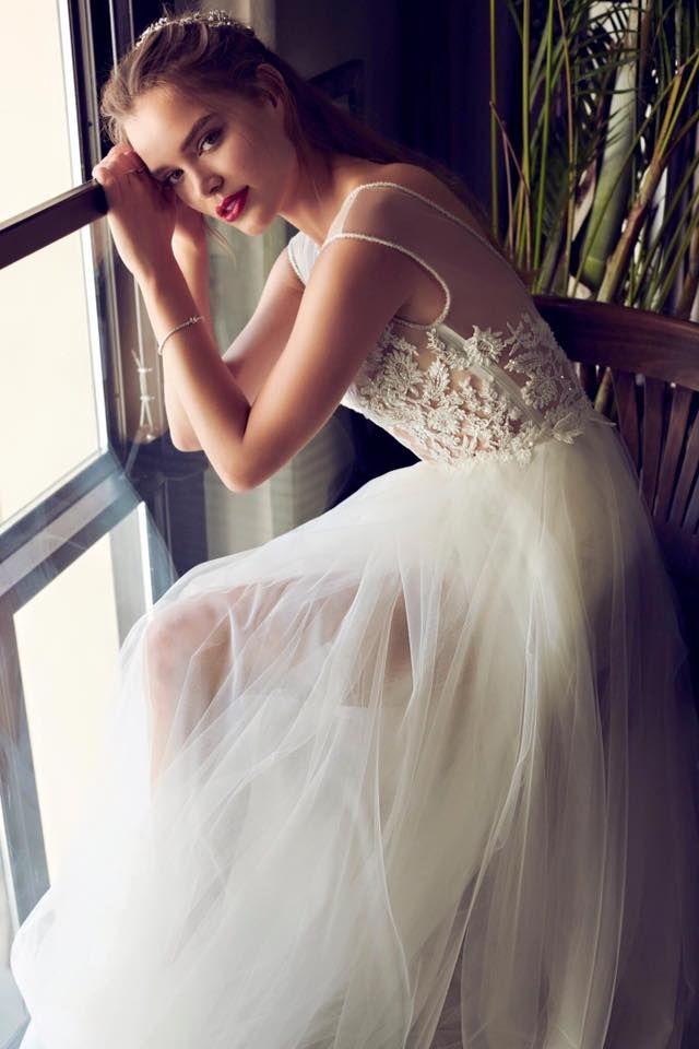 Decolove Norhern Lights Bridal Tiara in Laurelle 2017 Wedding Collection