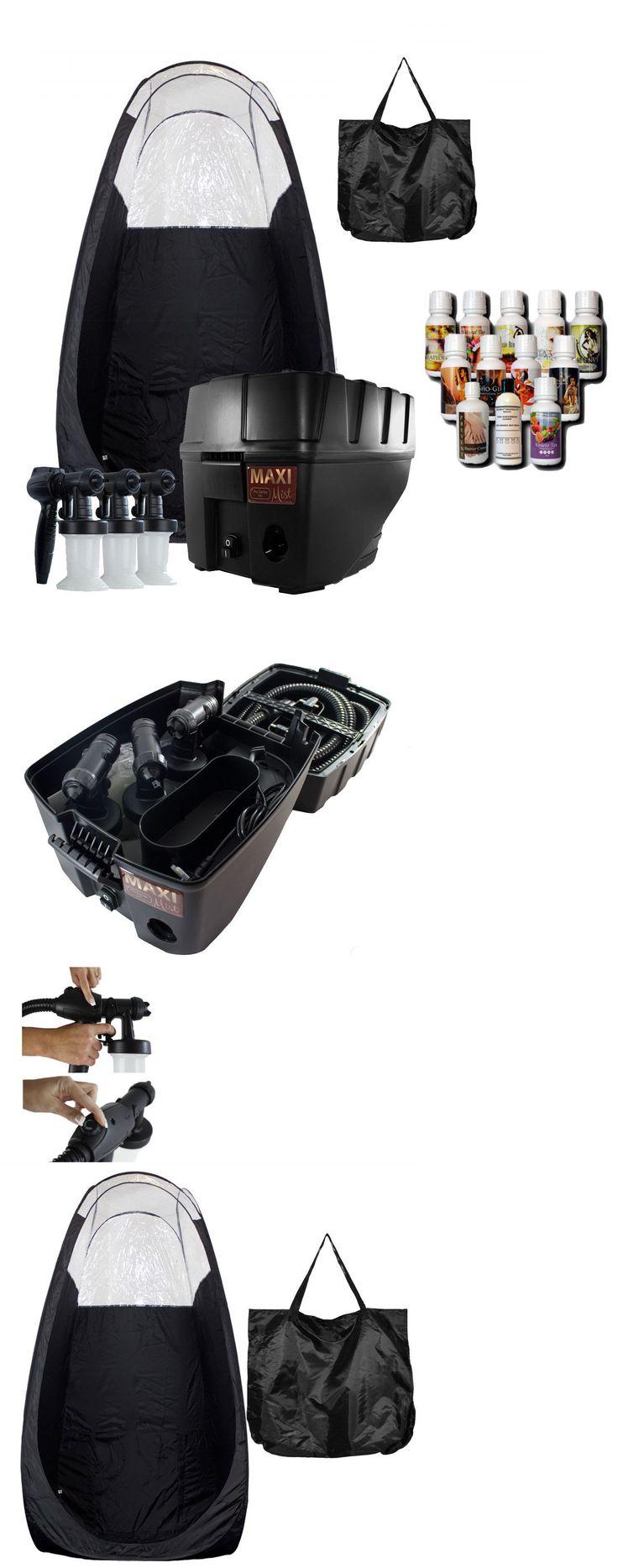 Airbrush Tanning Kits: Maximist Pro Tnt Quiet Hvlp Spray Tan Kit W Black Tent W Tampa Bay Tan Spray -> BUY IT NOW ONLY: $549 on eBay!