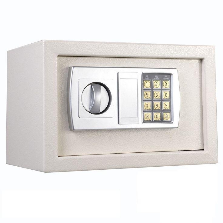 "12.5"" Electronic Keypad Digital Lock Safe Box Cash Jewelry Gun White USA Stock http://www.iakram.com/12-5-electronic-keypad-digital-lock-safe-box-cash-jewelry-gun-white-usa-stock/?utm_campaign=coschedule&utm_source=pinterest&utm_medium=SoftBuild&utm_content=12.5%22%20Electronic%20Keypad%20Digital%20Lock%20Safe%20Box%20Cash%20Jewelry%20Gun%20White%20USA%20Stock"