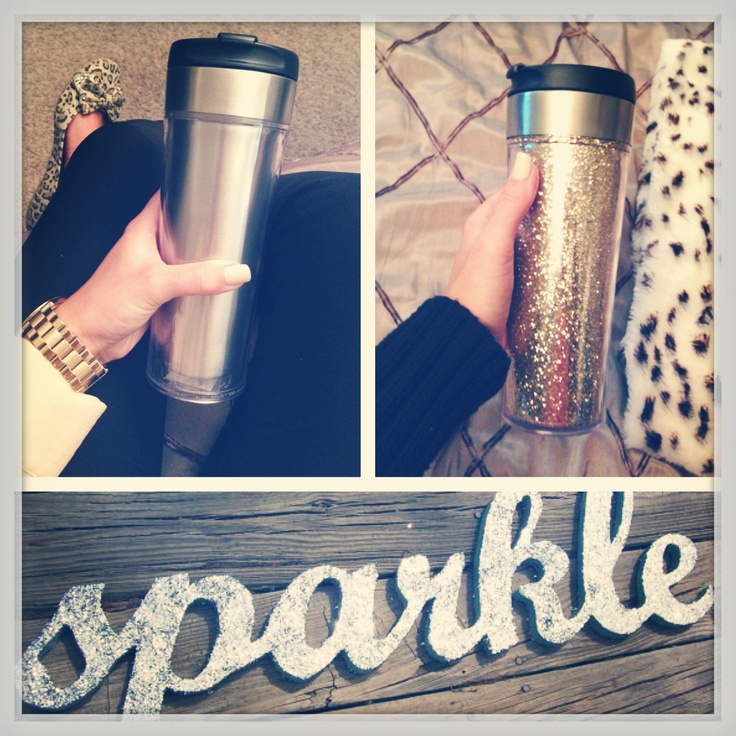 Convert Your Double Wall Insulated Cup To A Glitter