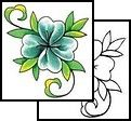 leaf Tattoo Design (RNF-00128)