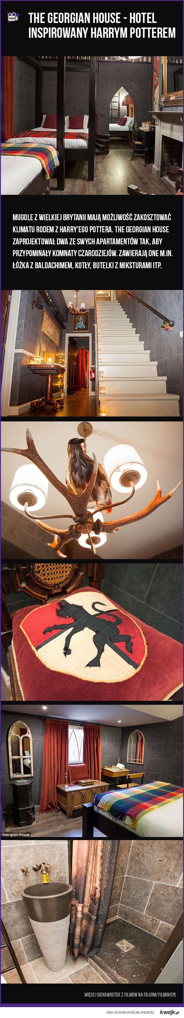 Harry Potterowy hotel :) #hp #harrypotter #hotel #interesting #design