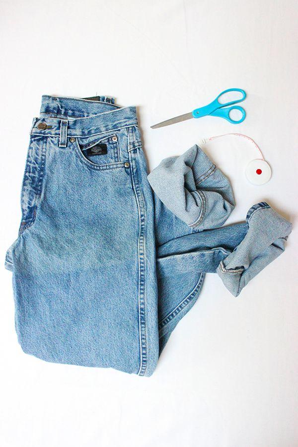 DIY // Denim Shorts - Style Cusp // Powered by chloédigital