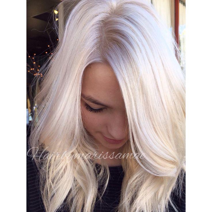 Vanilla Ice White Blonde Hair My Work Pinterest