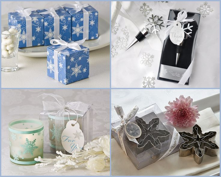 Snowflake Party Favors from HotRef.com