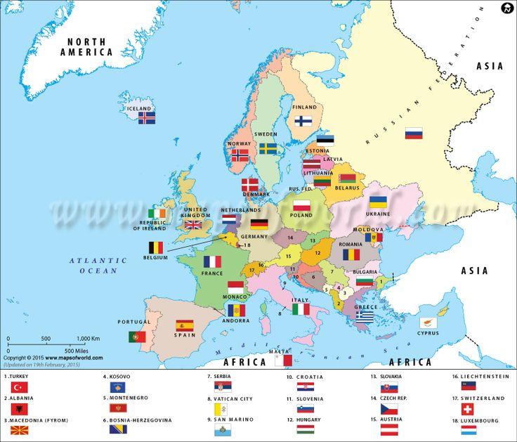 kleinste land in europa