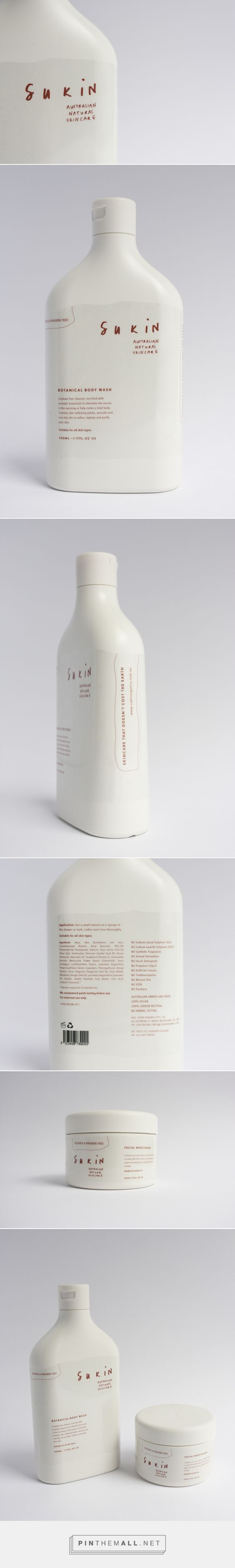Sukin Skincare is an Australian natural personal care company whose products boast only the best ingredients nature has to offer. | Package Designed by Danielle Fritz