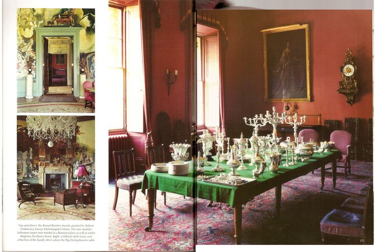 Port Eliot spread in World of Interiors