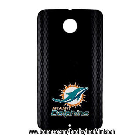 COOL Miami Dolphins Google Nexus 6 Case Cover Wrap Around
