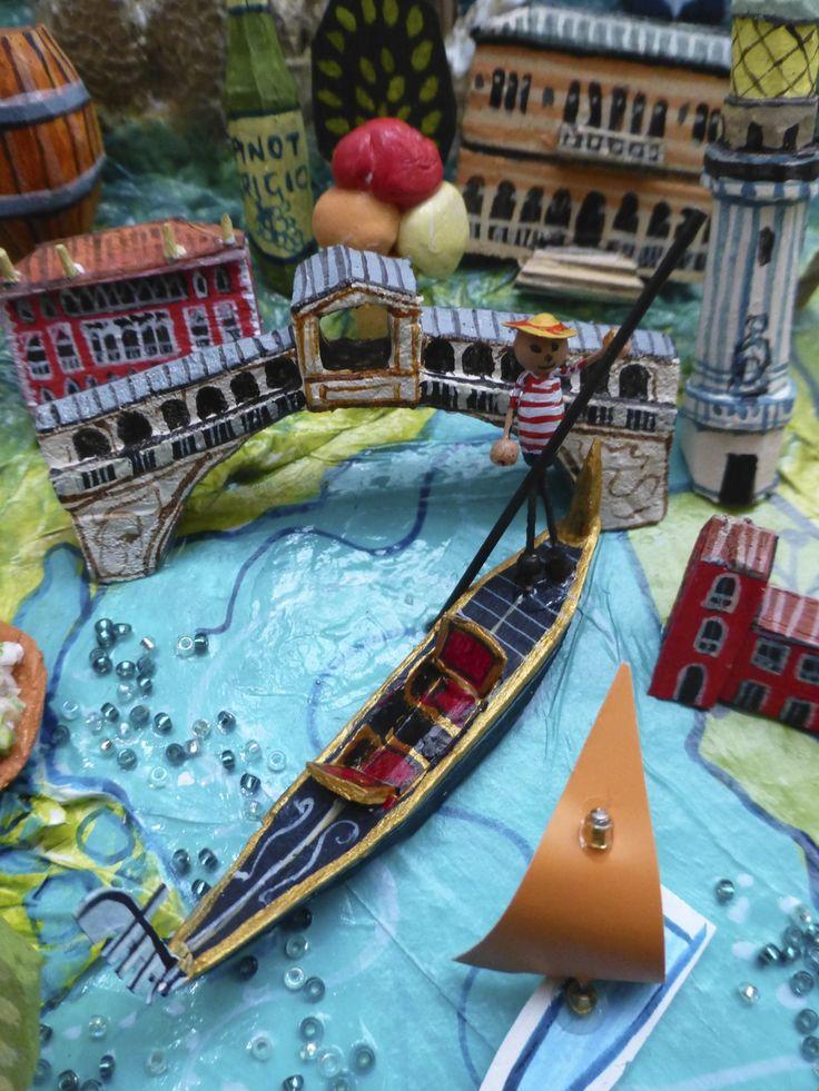 Venice Italy map detail by Sara Drake