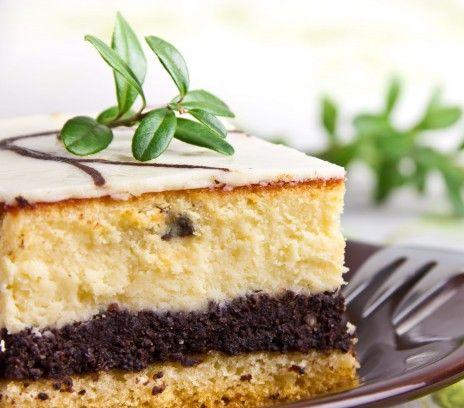 Poppy Seed Cheesecake | Sernik z makiem (in Polish)