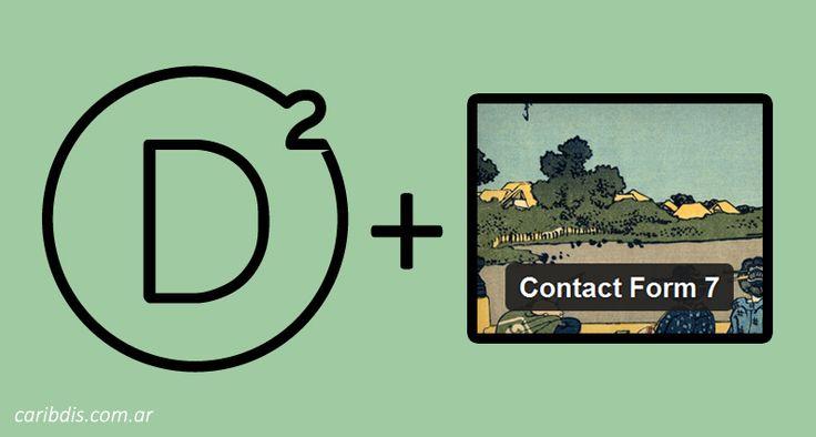 Divi con Contact Form 7 o cómo agregar campos al formulario