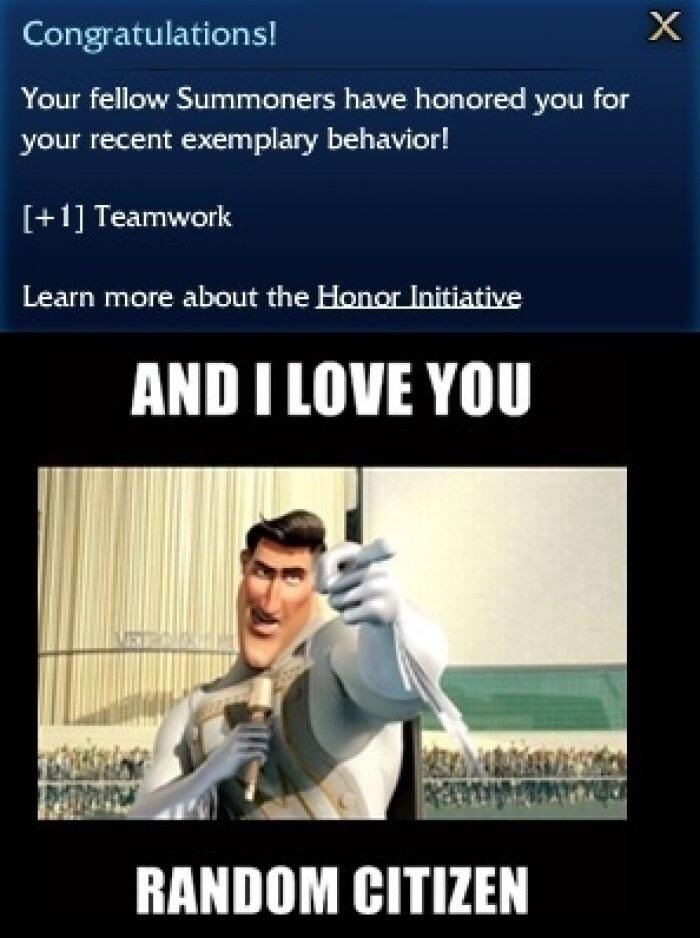 Ha! My husband is still trying to get one of the honor banners on League. I got Teamwork months ago.