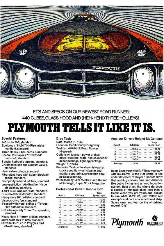 1969 Plymouth Road Runner 440 Digital Art by Digital Repro Depot
