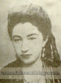 Osmanlı Hanedan Fotoğrafları Abdulhamid II - KIZKARDEŞİ    Seniha Sultan