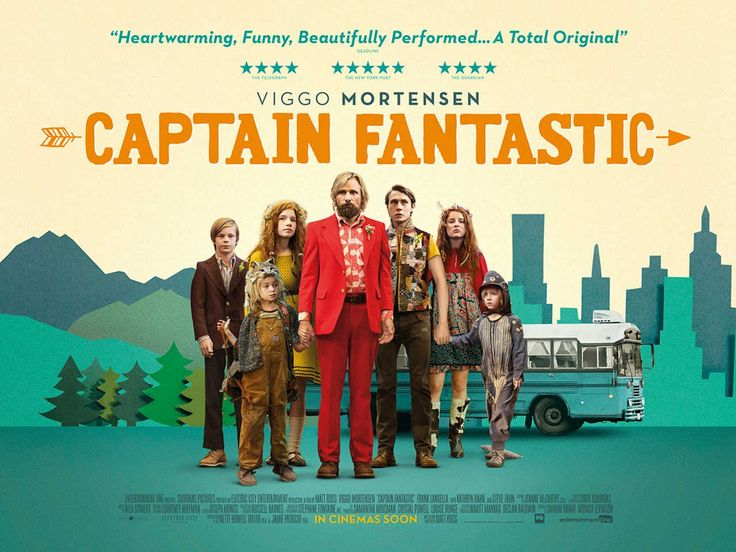 Return to the main poster page for Captain Fantastic (#2 of 4)