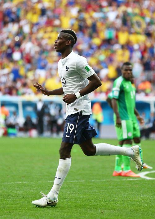 allez les bleus Paul Pogba - France vs Nigeria 2:0