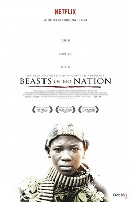 Beasts of No Nation (2015) movie #poster, #tshirt, #mousepad, #movieposters2