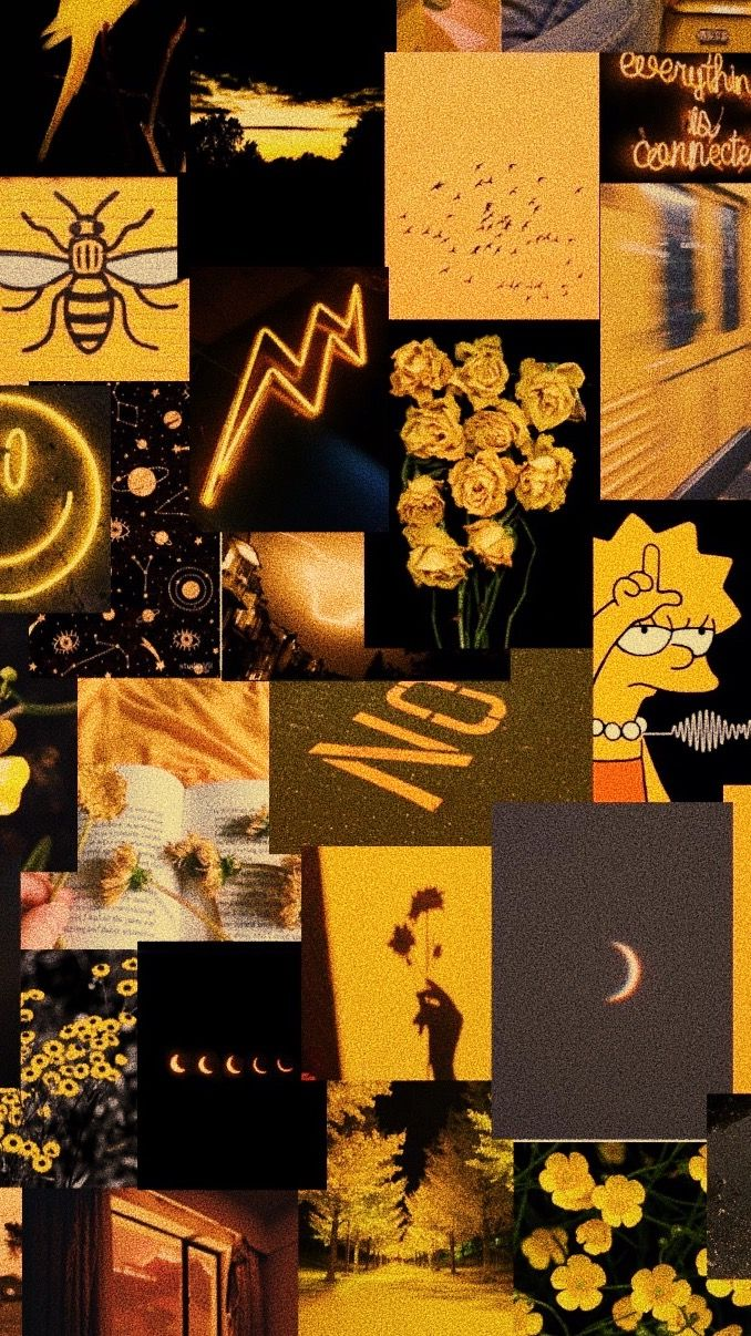 Yellow And Black Aesthetic Wallpaper In 2020 Black Aesthetic Wallpaper Iphone Wallpaper Yellow Aesthetic Iphone Wallpaper