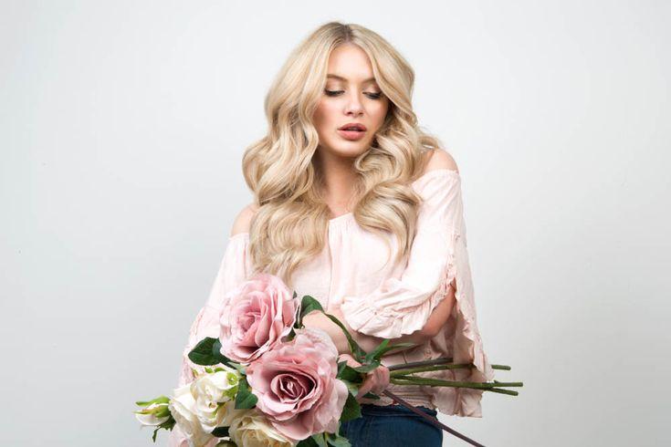 Milk + Blush Hair Extensions: 16-18″ Luxurious Set in the shade California