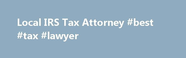 Local IRS Tax Attorney #best #tax #lawyer http://kenya.remmont.com/local-irs-tax-attorney-best-tax-lawyer/  # Are You Frustrated With IRS Tax Issues? Let Our Tax Pros Resolve Them for You! We Have Over 32 Years of Experience in All 50 States. This privacy policy discloses the privacy practices for (http://andersonbradshawtax.com/). This privacy policy applies solely to information collected by this web site. It will notify you of the following: What personally identifiable information is…