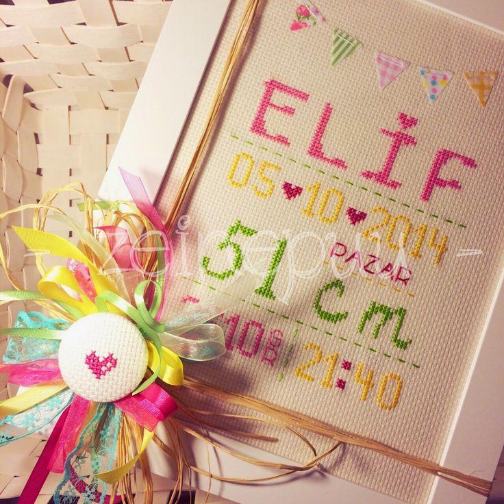 Zeinepuu: Elif*in doğum panosu ♥