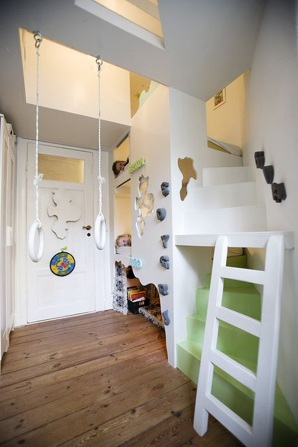 This is just perfect - love it! bunk bed #kids