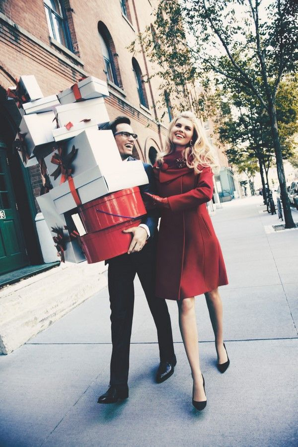 Me dreaming Al and I are doing this, this holiday season. Me picking everything out and he is carrying everything with a smile. Ha ha.