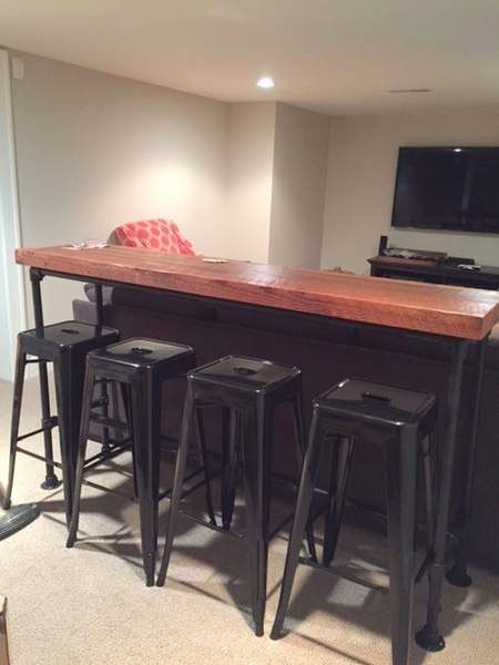 491 Best Images About Pipe Tables On Pinterest Garage Workbench