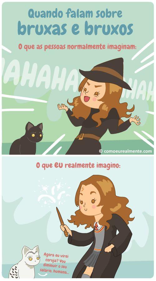 Bruxas e bruxos | Como eu realmente...