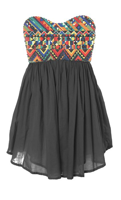 : Summer Dresses, Fashion, Dreams Closet, Style, Clothing, Cute Dresses, Aztec Prints, Tribal Prints, Tribal Patterns