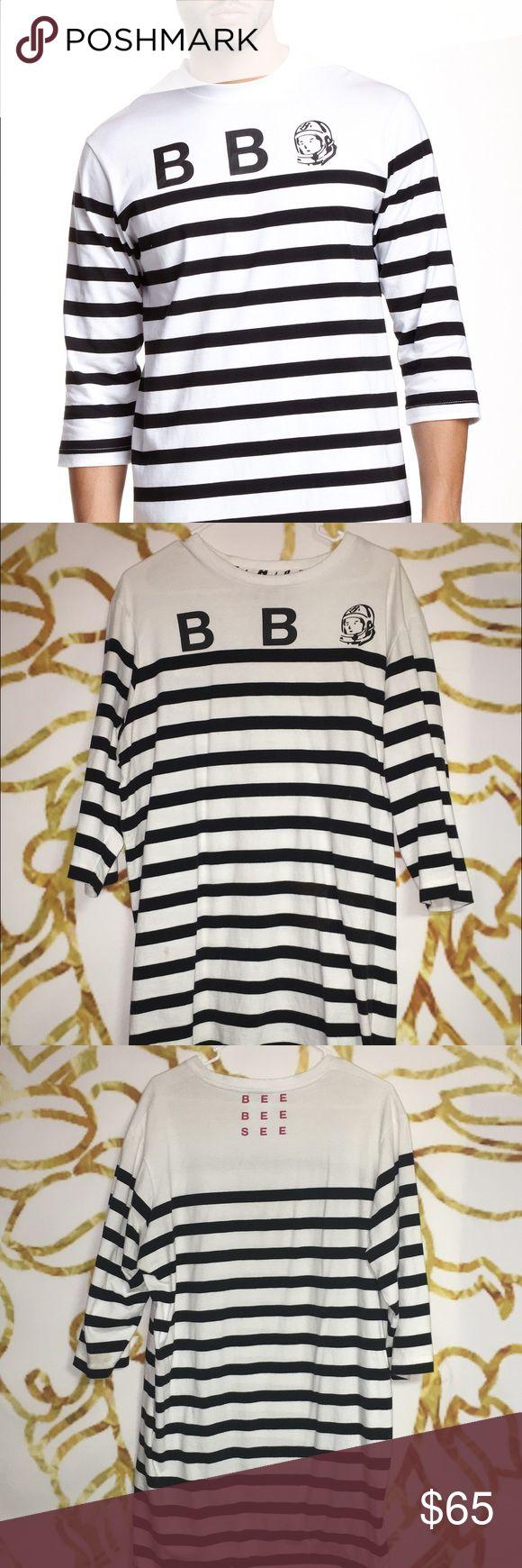 Billionaire Boys Club Stripe Tunic Billionaire Boys Club tee in great shape. Size XL. Billionaire Boys Club Shirts Tees - Long Sleeve
