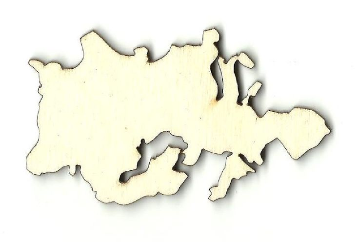 Europe Continent  Laser Cut Unfinished Wood Shapes  Variety of Sizes Craft Supply DIY WLD5