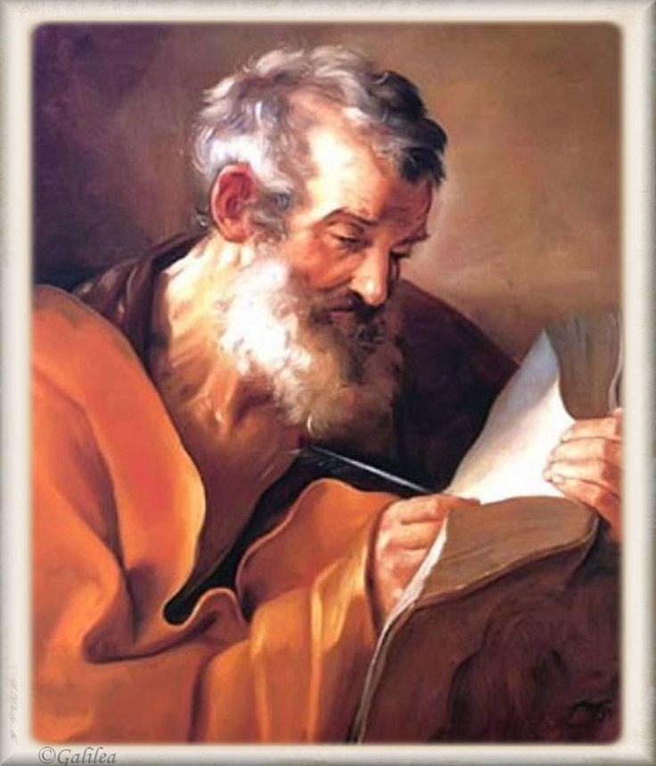 Santa María, Madre de Dios y Madre nuestra: San Marcos Evangelista, 25 de Abril