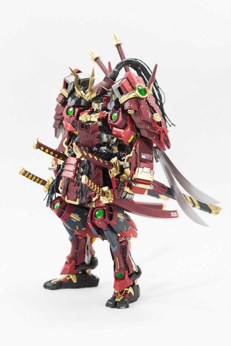 GUNDAM GUY: MG 1/100 Shogan Astray Muramasa - Customized Build
