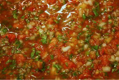 Delicious Family Recipes: Fresh Chunky Salsa