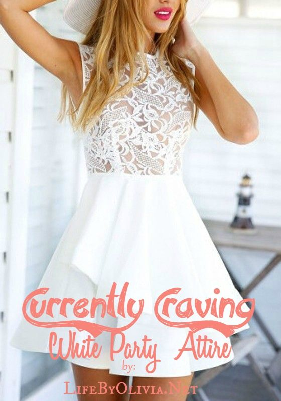 Currently Craving: White Party Attire